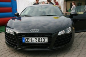 Auto Hirsch Wildenberg Audi R8 Gewinnspiel