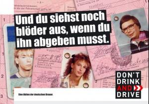 Auto Hirsch Abensberg Werkstatt Dont drink an drive