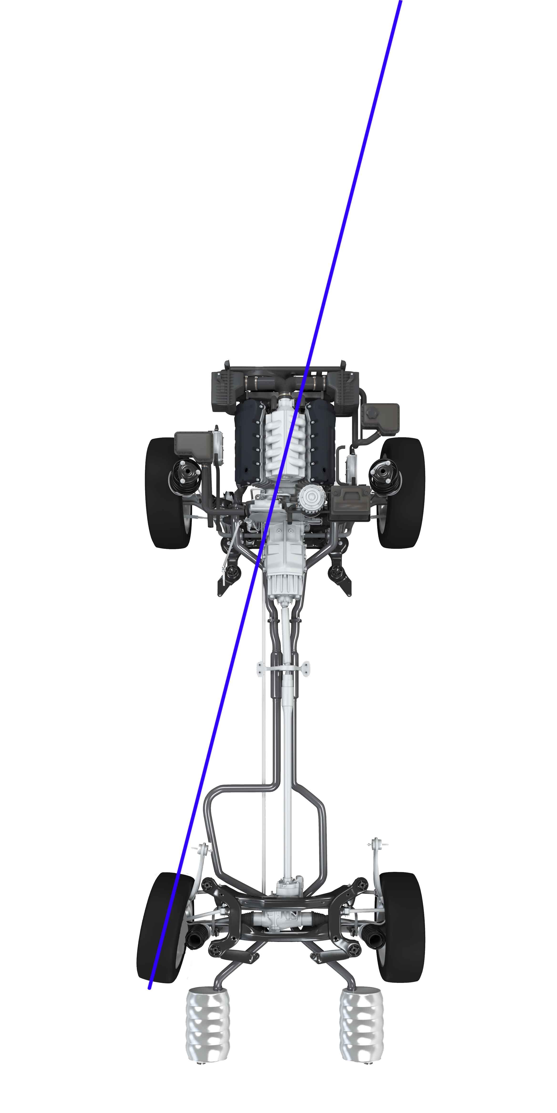 82-Fahrzeuglängsmittelebene-geometrische Fahrachse-HA-verstellt-Spurlinielinks-web