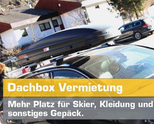 Dachbox mieten günstig bei Auto Hirsch