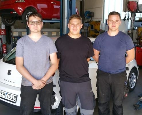Neue Mitarbeiter bei Auto Hirsch Wildenberg 2019