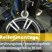 Reifenmontage
