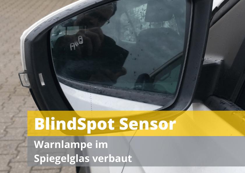 Blind Spot Sensor Spiegelglas kalibrieren justieren Auto Hirsch Wildenberg Seat Skoda VW Audi