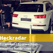 justieren kalibrieren einstellen Auto Hirsch Wildenberg VW Audi Seat S