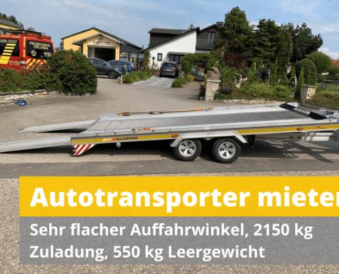 Autotransporter mieten