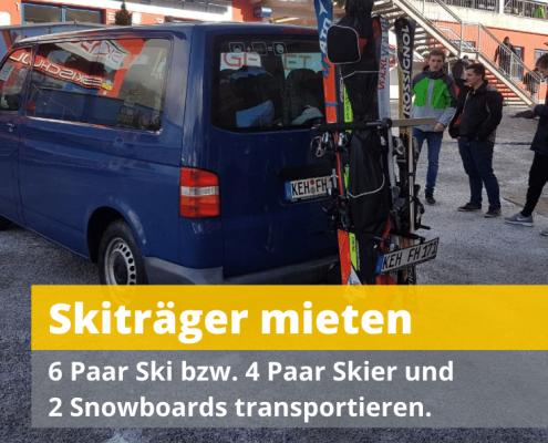 Skiträger mieten