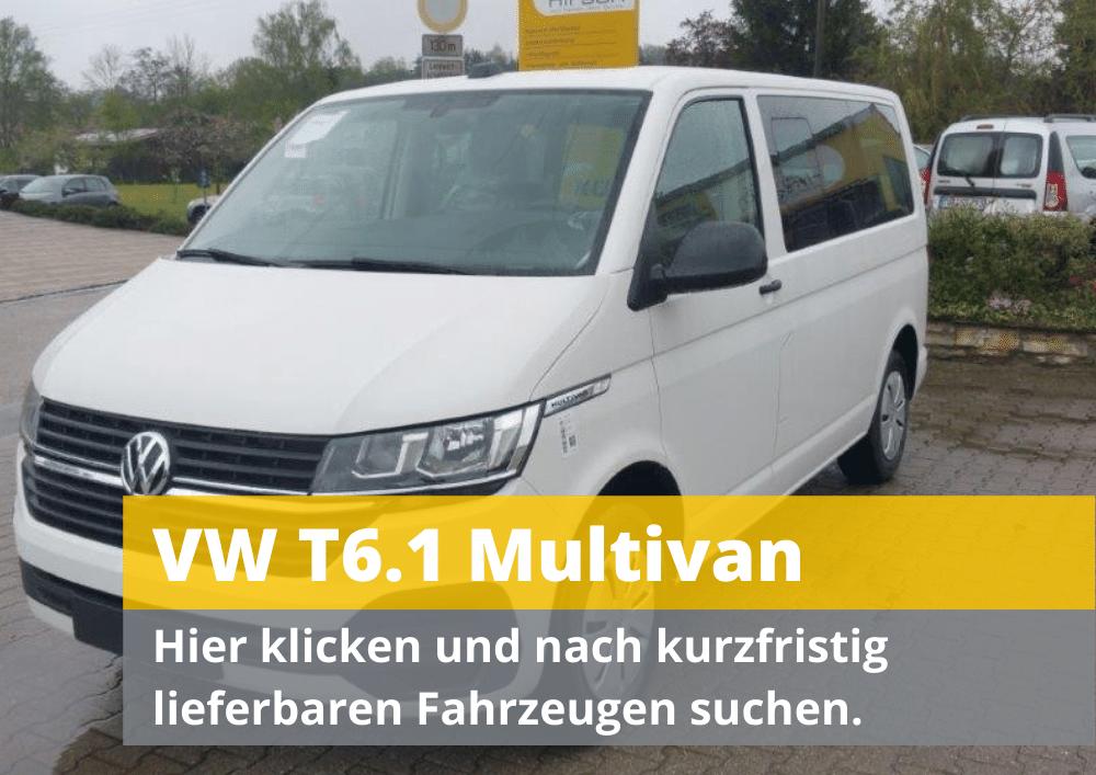 VW T6.1 Multivan guenstig kaufen als Reimport Tageszulassung